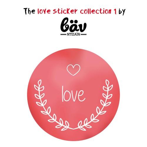 """Αυτοκόλλητα για Συσκευασίες-Love Sticker Collection 1 By """"βαν ντιζάιν"""""""