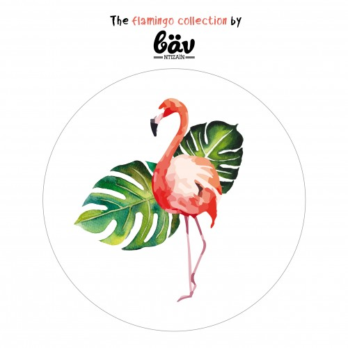 """Αυτοκόλλητα Φλαμίνγκο για Συσκευασίες-The Flamingo Collection By """"βαν ντιζάιν"""""""