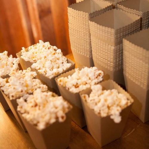 Κραφτ Χάρτινα Popcorn Boxes
