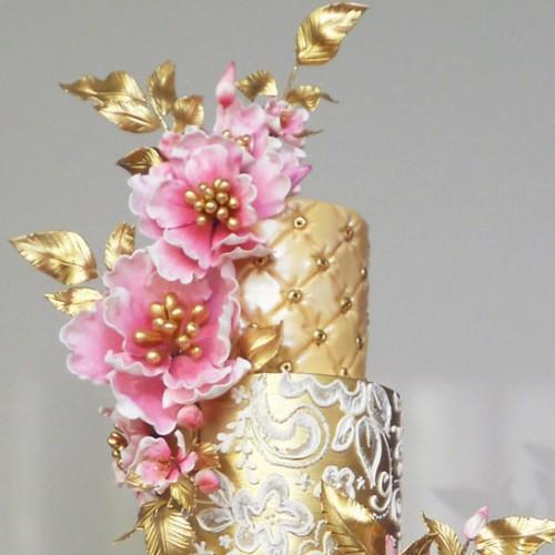 Μεσαίοι Περλέ Χρυσοί Στήμονες Λουλουδιών Culpitt
