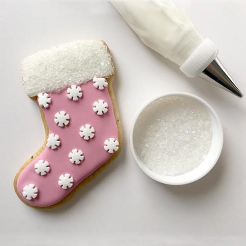 Βρώσιμα sprinkles-Λευκές Χιονονιφάδες 68gr