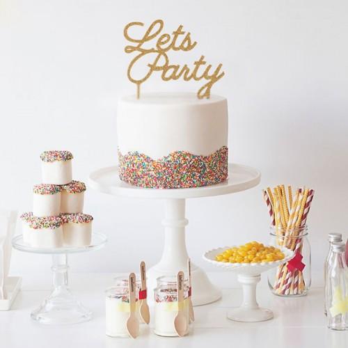 Λευκό Κεραμικό Cake Stand-Miss Etoile
