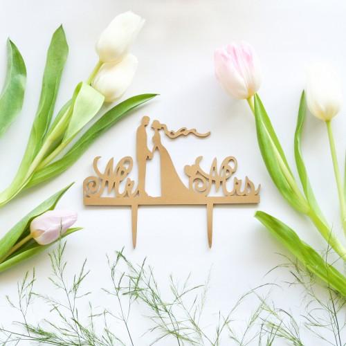 Cake Topper Love Eternity-Διακοσμητικό Τούρτας