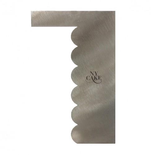 Μεταλλική Κυματιστή Χτένα Comb-Wave Shape Ν.Y.CAKE