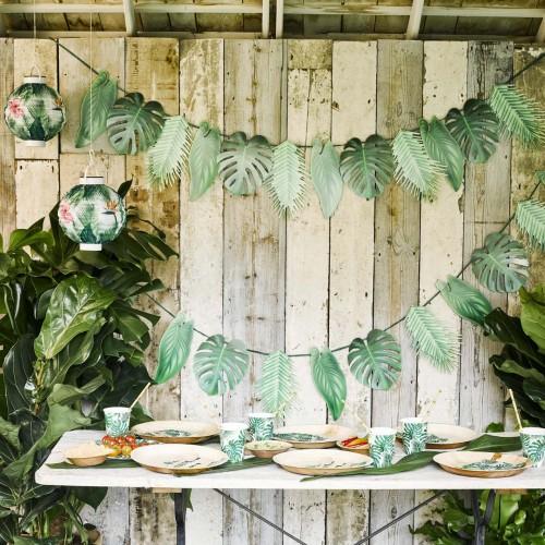 Γιρλάντα Τροπικά Φύλλα Talking Tables
