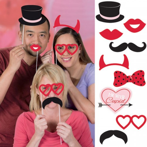 Photo Booth Props Για Γάμους Και Bachelors 10pcs By Unique