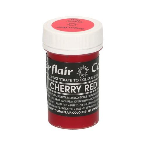 Κόκκινο Κεράσι Συμπυκνωμένο Βρώσιμο Παστέλ Χρώμα 25γρ της Sugarflair