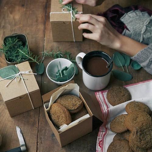 Κραφτ Κουτί για Cupcakes Και Συσκευασία Δώρων
