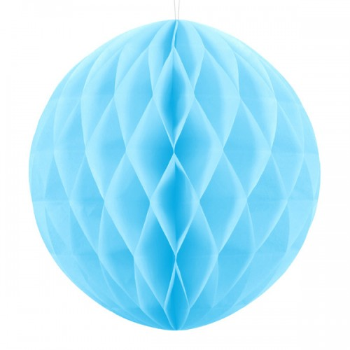 abcJoy Γαλάζια-Baby Blue Honeycomb ball - 14''