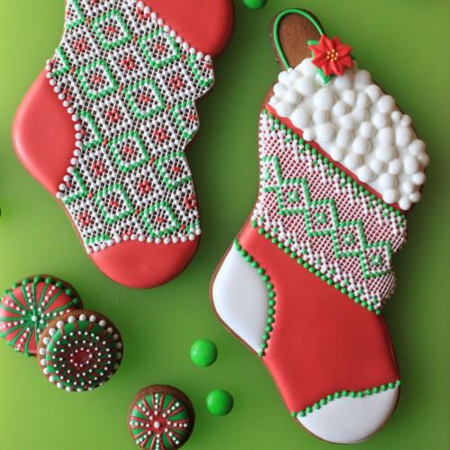 Κουπ πατ Χριστουγεννιάτικη Κάλτσα