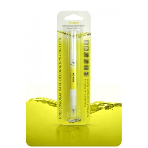 Διπλός Μαρκαδόρος Τροφίμων - Κίτρινο