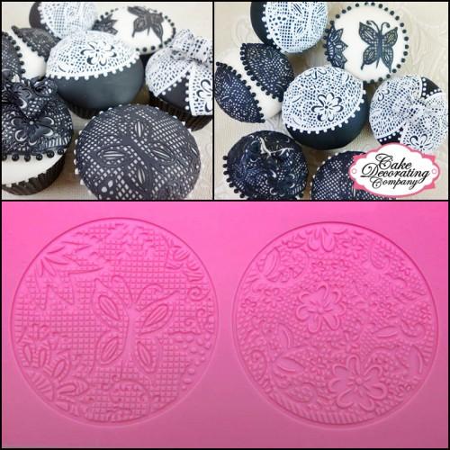 Cake Lace Καλούπι Σιλικόνης - Zahara