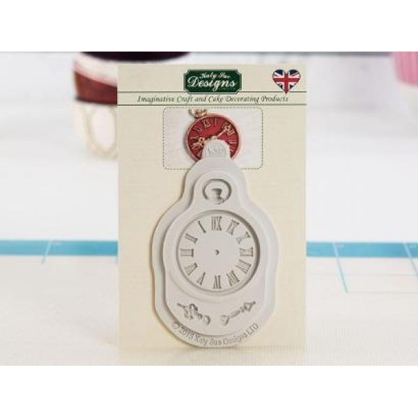 50f1d22e4f Καλούπι Σιλικόνης- Ρολόι-Vintage Clock της Katy Sue